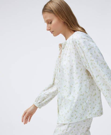 Camisa em algodão com estampado