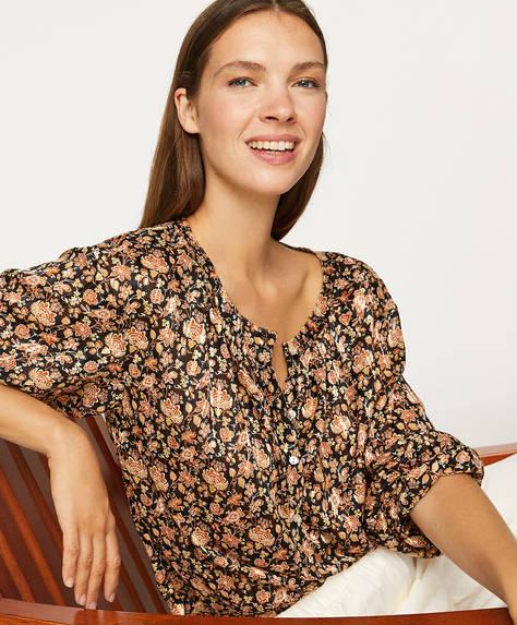 Camisa flores