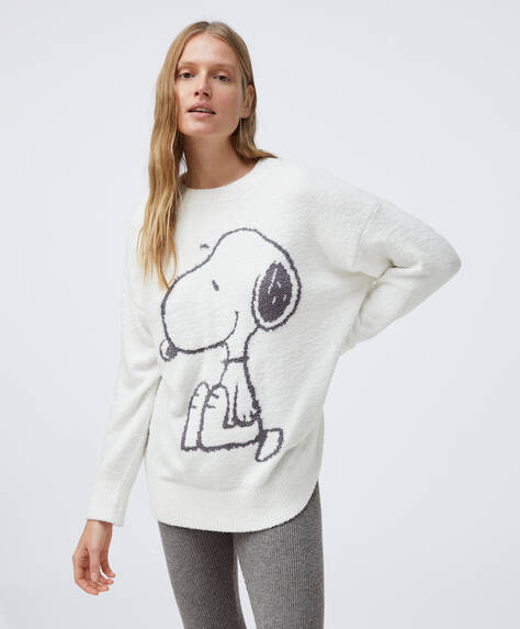 Fleece SNOOPY © sweatshirt