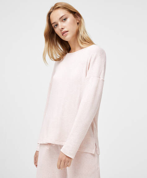 Comfort feel pink T-shirt