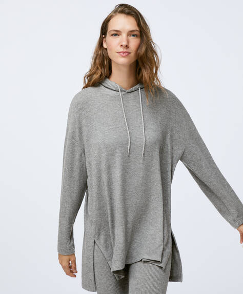 Comfort feel hooded jumper