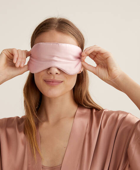 100% silk sleep mask