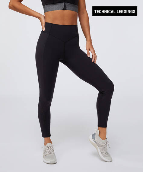 Legging à bandes de compression