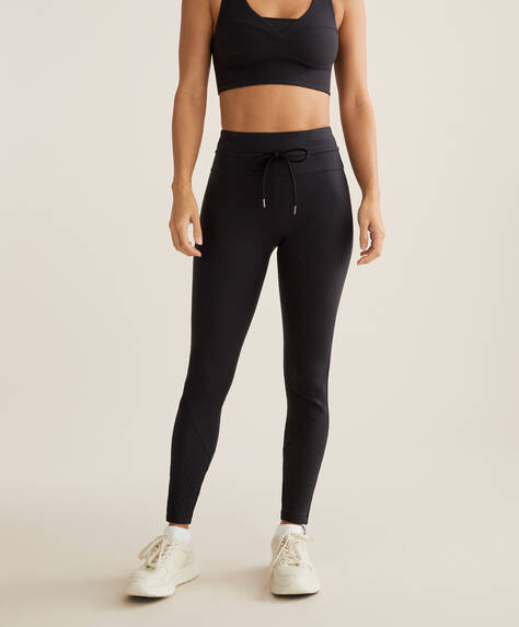 Compression biker leggings