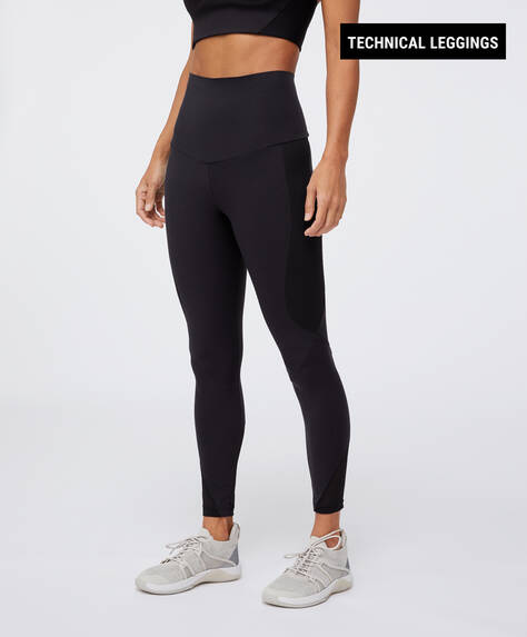Leggings med kompression og pushup effekt