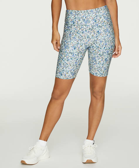 Ditsy floral print cycle shorts
