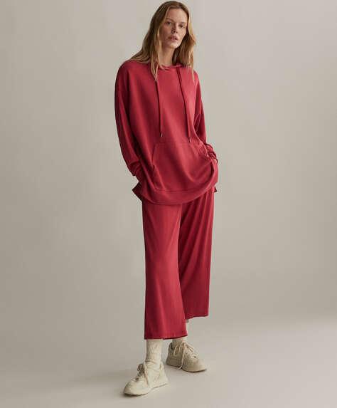 Pantalón culotte modal