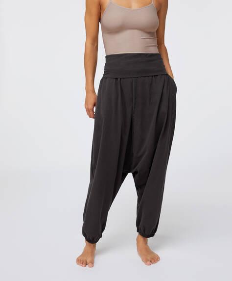 Pantalón harem 100% algodón orgánico