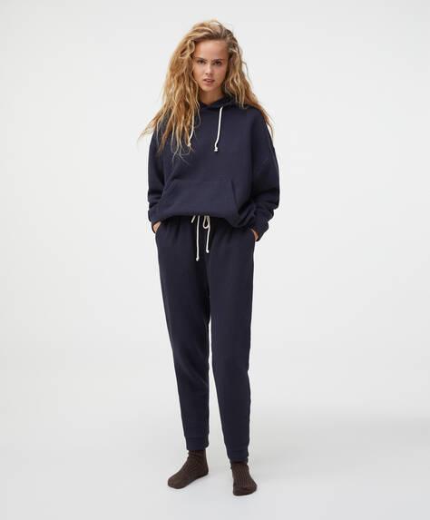 Pantaloni jogger din bumbac 100%