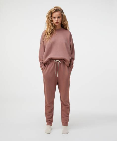Pantalón jogger 100% algodón