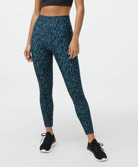 Leggings comfort estampado mini flor