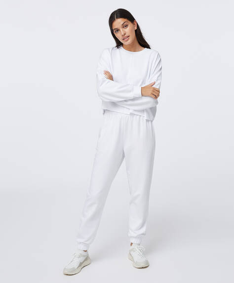 Modal cotton trousers