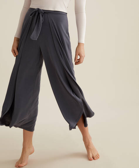 Bow sarong trousers