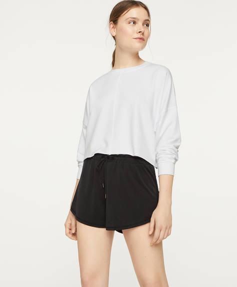 Pantalons curts bàsics modal