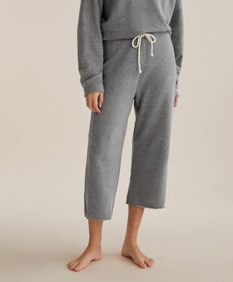 Jupe-culotte en coton