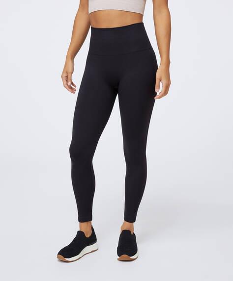 Seamless compression leggings