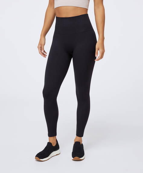 Seamless compression leggings