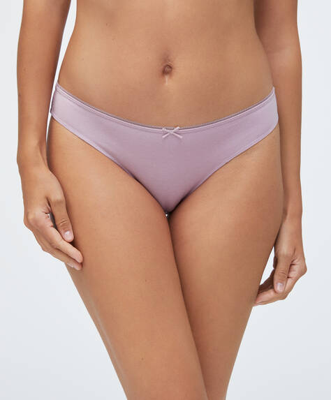 7 cotton Brazilian briefs