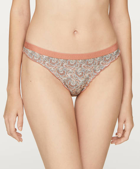 3 paisley Brazilian briefs