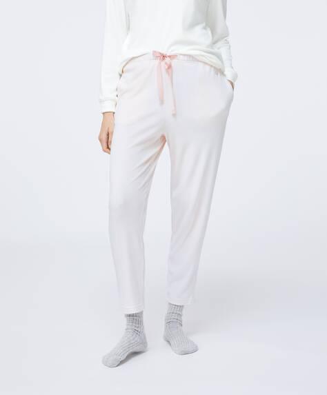 Hose mit rosa Streifen