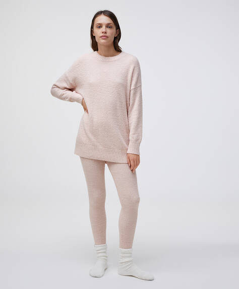 Extra-soft fleece leggings