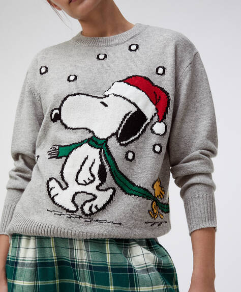 Snoopy Christmas jumper