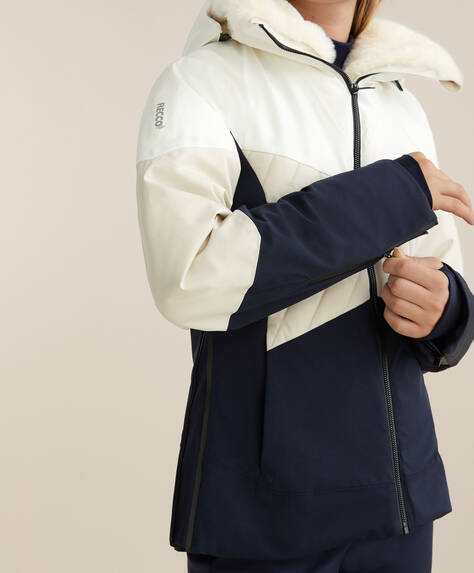RECCO® SKI padded panel jacket