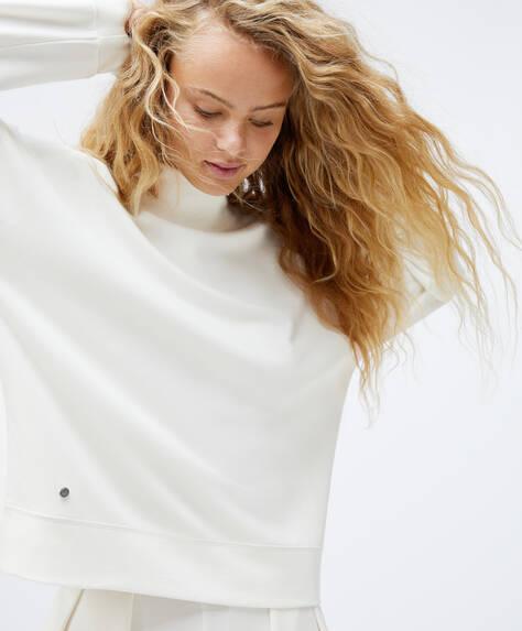 TENCEL® high neck sweatshirt