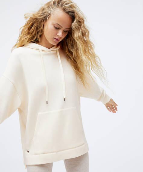 Oversize knit sweatshirt