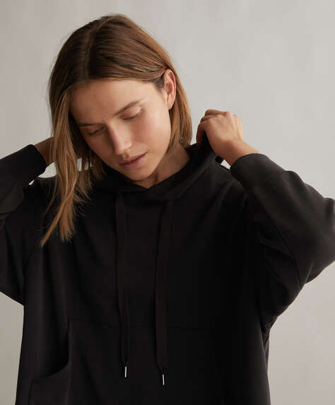 Oversize soft-touch sweatshirt