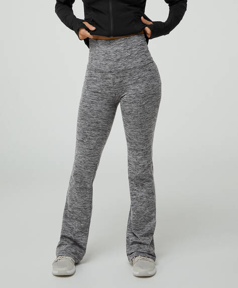 Comfort warm lux flare trousers