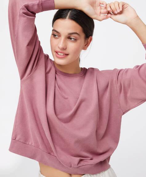 Sweatshirt mit Modalanteil