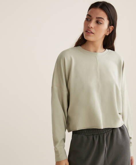 Crop-Sweatshirt