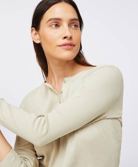 Maglietta cotone basic tinta unita