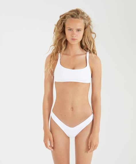 Top bikini monocolor