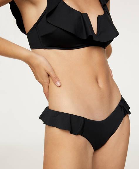 Brazilian bikinibroekje met V-vorm
