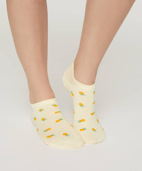 5 pairs of fruit ankle socks