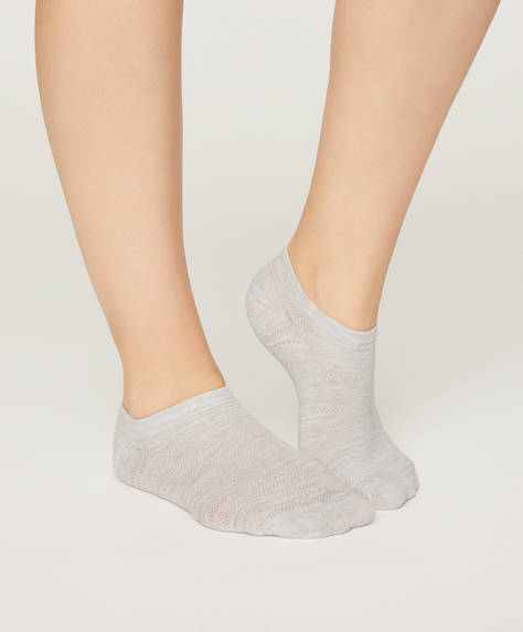 5 pairs of ditsy dot ankle socks