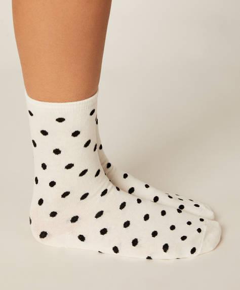 5 pairs of dotty socks