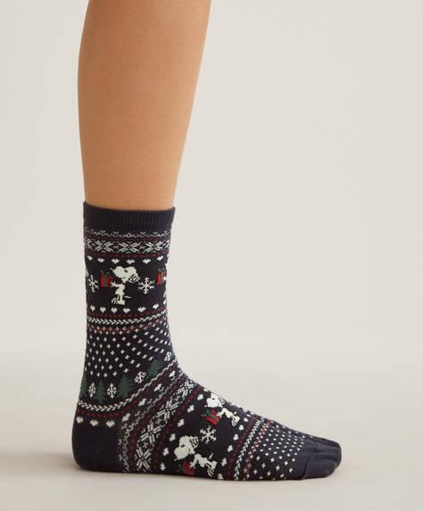 3 pairs of Snoopy socks