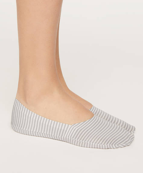 Pack of 2 pairs of stripe footsies