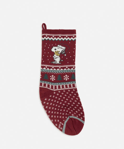 Decorative Snoopy stocking