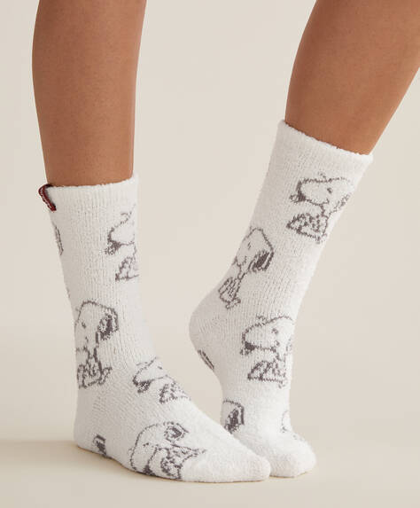 Snoopy soft touch socks