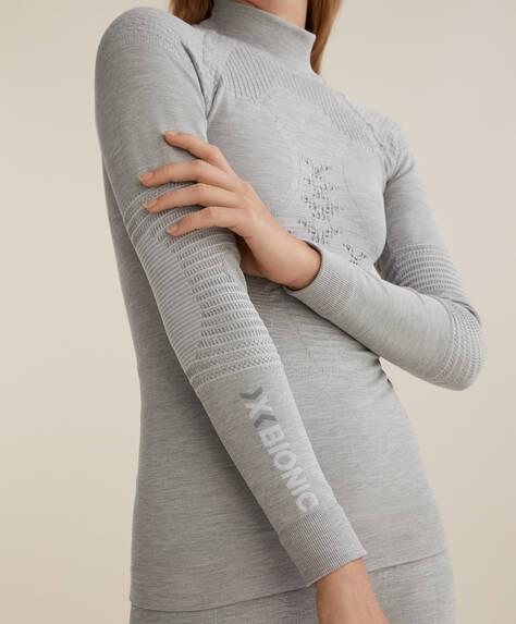 X-BIONIC® SKI T-shirt, seamless, i technic stof