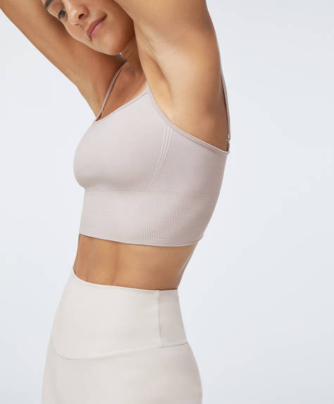 Seamless strappy top