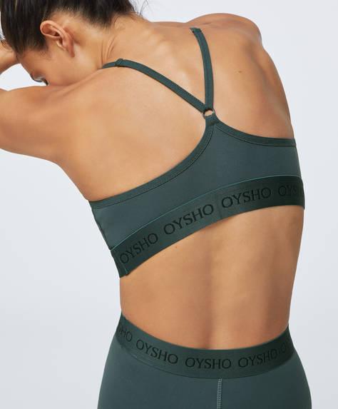 Logo comfort sports bra