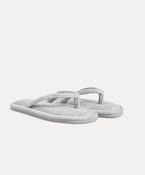 Slim marled sandals
