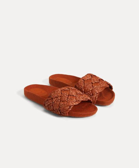 Artisan braided sandal