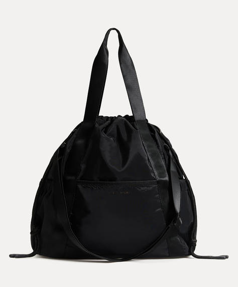 Ruched sports bag