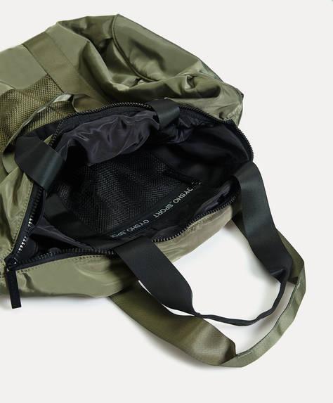 Reversible gym bag